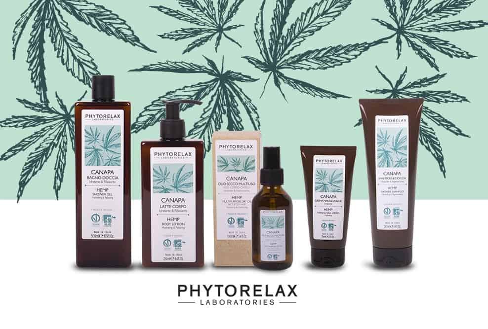 Cosmetici alla Canapa Phytorelax