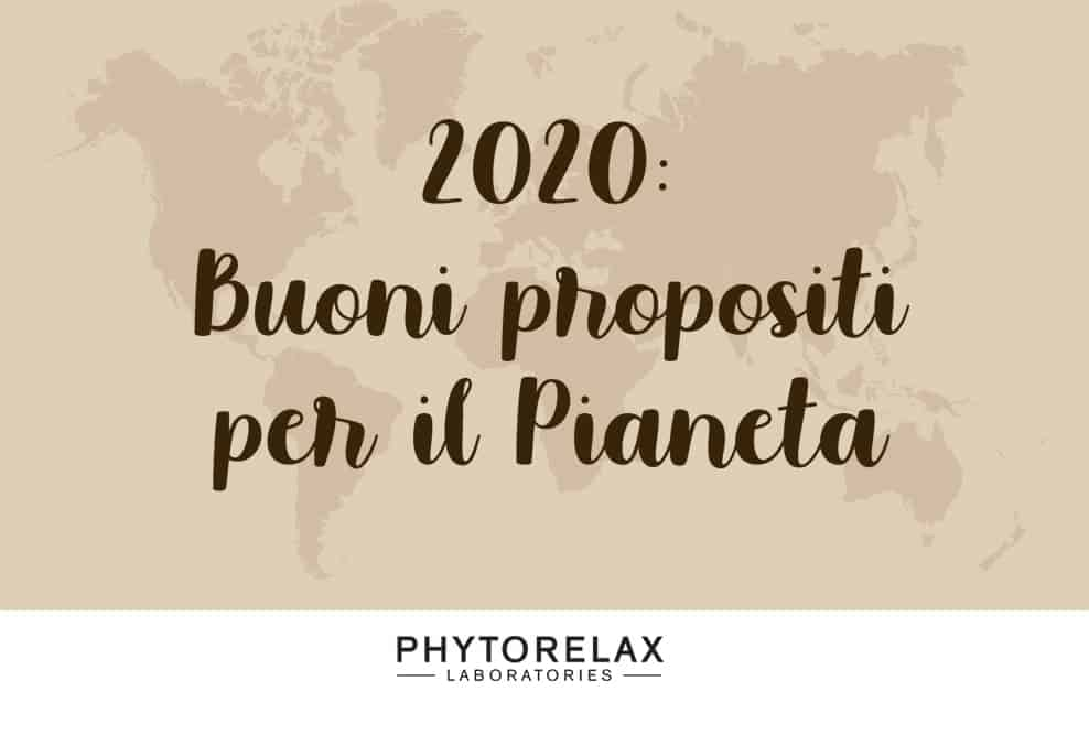 2020 Buoni Propositi per il Pianeta