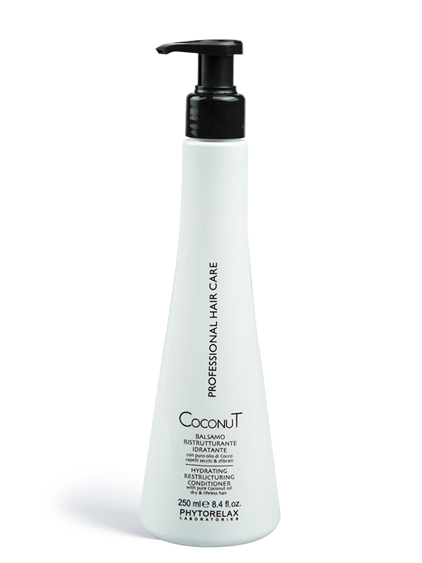 balsamo ristrutturante idratante coconut professional hair care 250ml