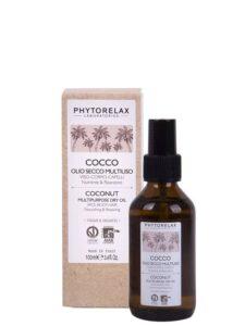cocco olio secco multiuso visocorpo capelli nutriente riparatore
