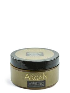 crema ricca massaggio corpo olio di argan