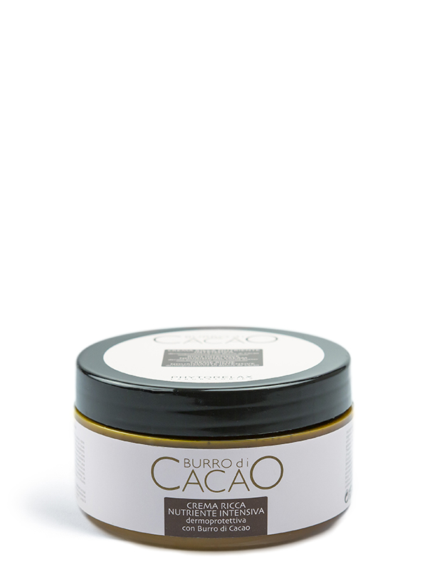 crema ricca nutriente intensiva burro di cacao