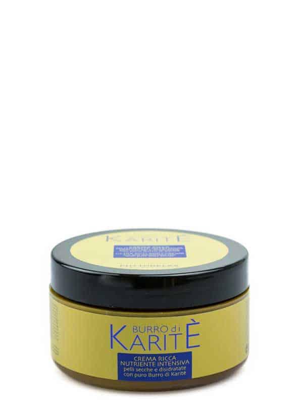 crema ricca nutriente intensiva burro di karite