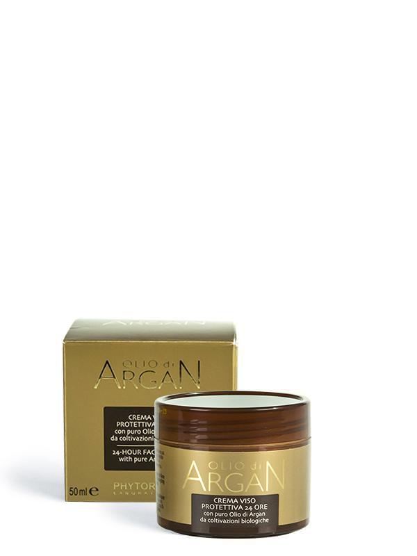 crema viso protettiva 24h olio di argan