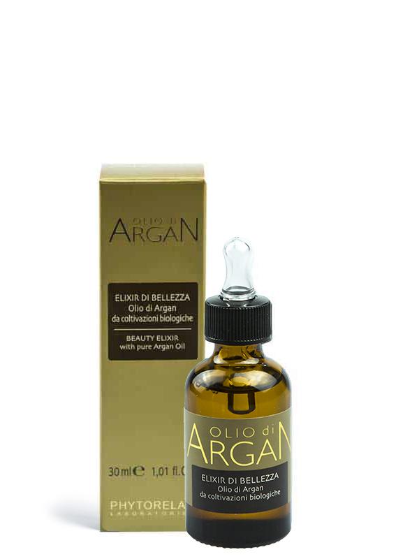 elixir di bellezza olio di argan