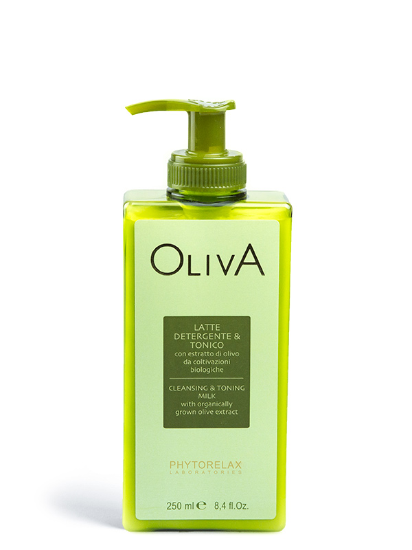 latte detergente tonico 2 in 1 oliva