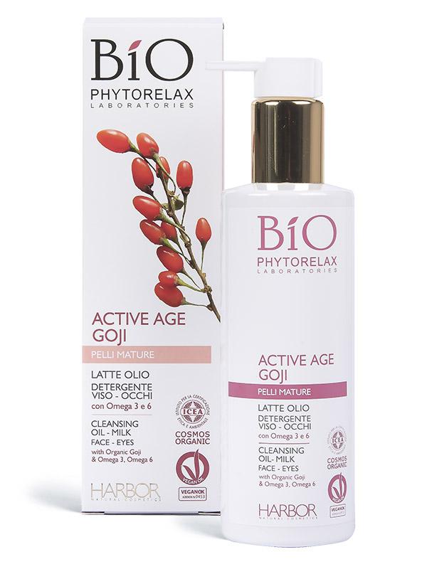latte olio detergente bio phytorelax active age goji