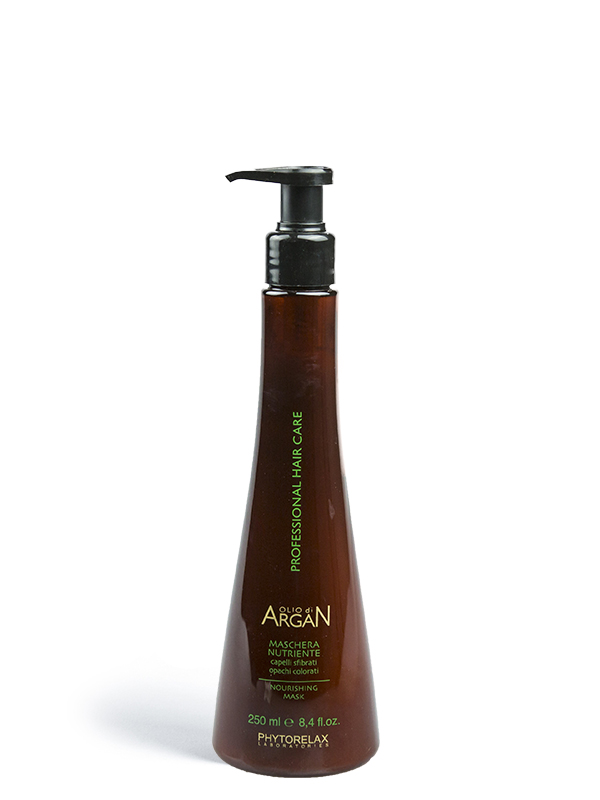 maschera nutriente olio di argan professional hair care 250ml