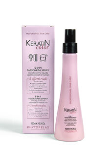 Maschera spray con cheratina liquida keratin color 150ml