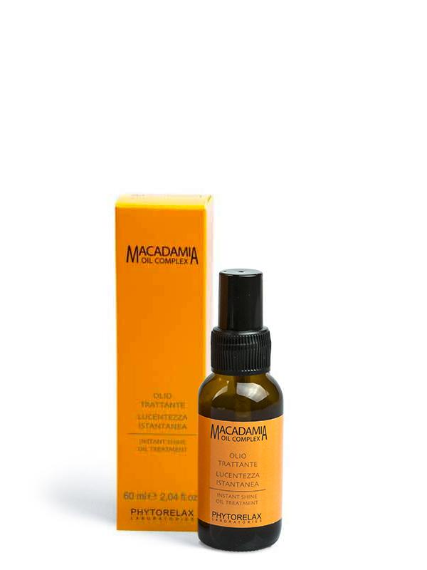 oil treatment lucentezza istantanea macadamia professional hair care 60ml