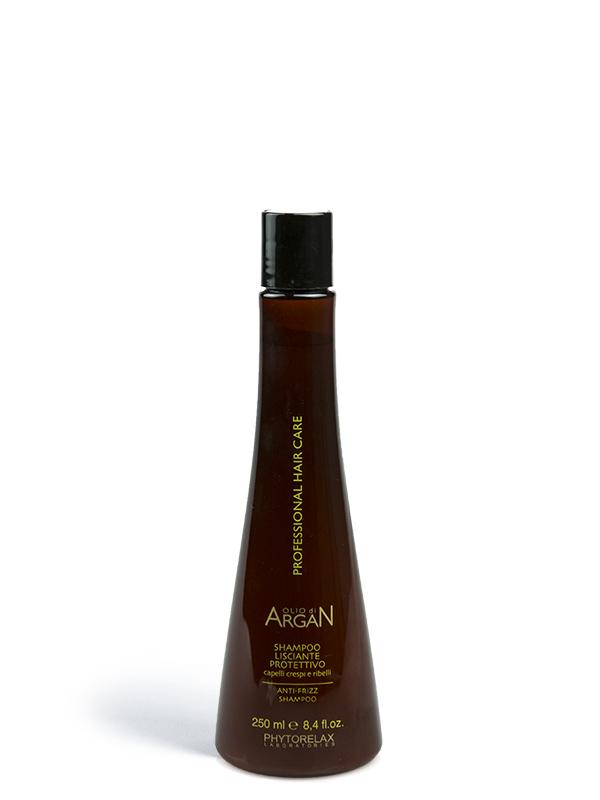 shampoo lisciante protettivo olio di argan professional hair care 250ml