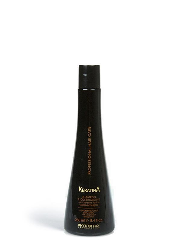 shampoo ricostruzione keratina professional hair care 250ml