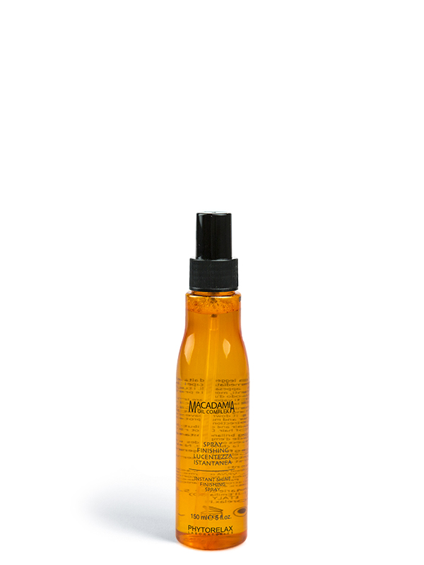 spray finishing lucentezza istantanea macadamia professional hair care 150ml