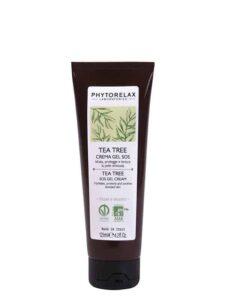 tea tree crema gel sos idrata protegge e lenisce la pelle stressata