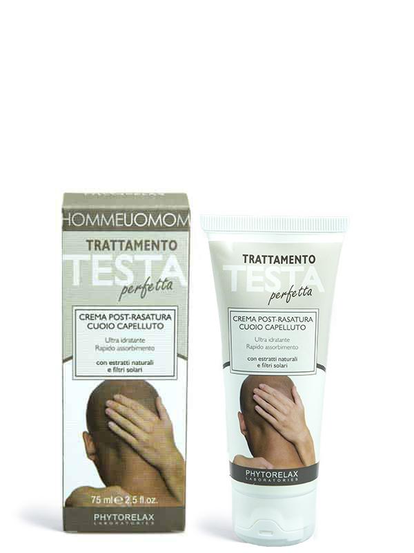trattamento testa perfetta crema post rasatura cuoio capelluto