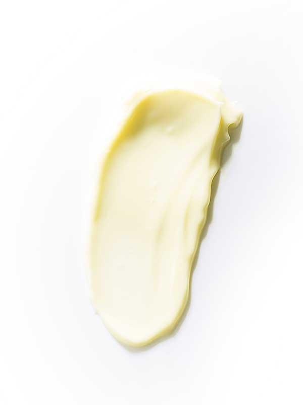 texture cocco burro corpo fondente nutriente