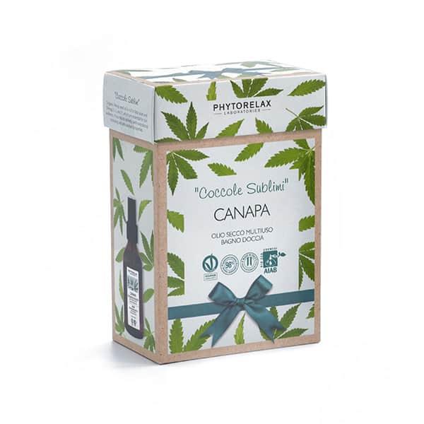 beauty box coccole sublimi canapa