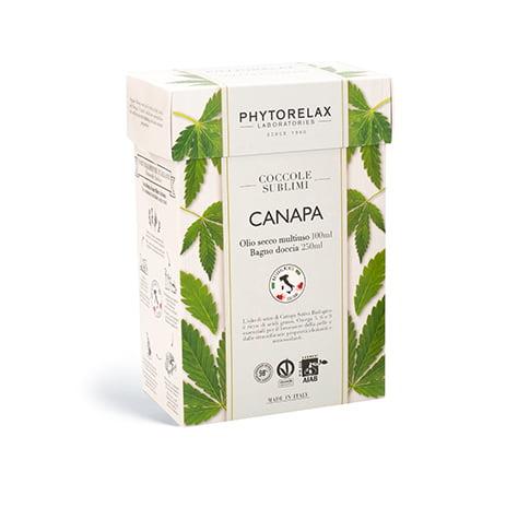 box coccole canapa singolo