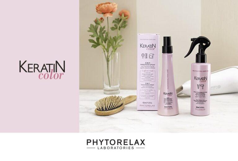 prodotti per i capelli keratin color