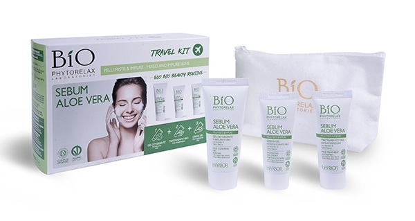 travel kit sebum aloe vera