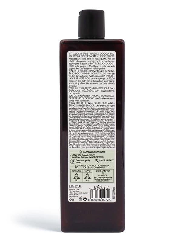retro bagno doccia balsamico rigenerante