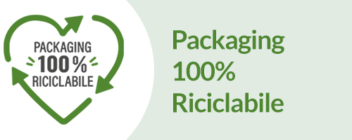 Packaging 100% riciclabile